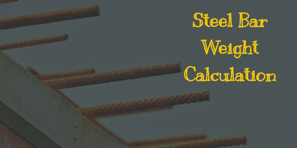 How to Calculate the Weight of Steel Bar? - Online Calculator