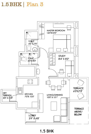What Is 1 Bhk 2 Bhk 3 Bhk 0 5 Bhk In A Flat Layout