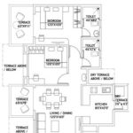 2 BHK Flat Layout