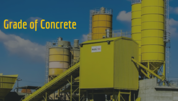 Grade of Concrete Banner