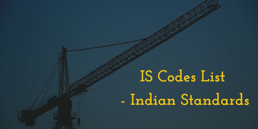 Is codes list indian standards in civil engineering keyboard keysfo Choice Image