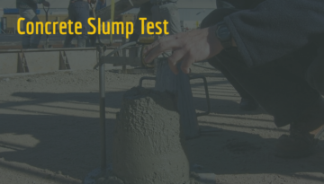 Concrete Slump Test Banner