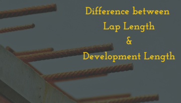 Lap Length and development length