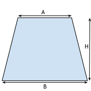 Trapezium Shaped Site