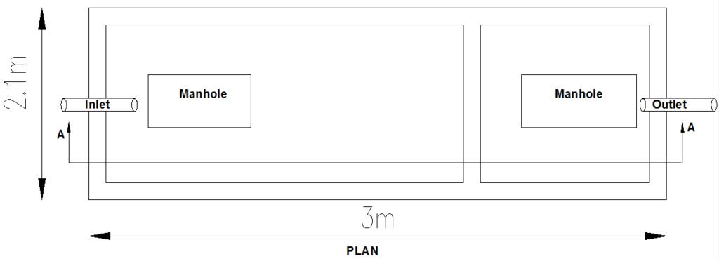 Septic Tank Plan View